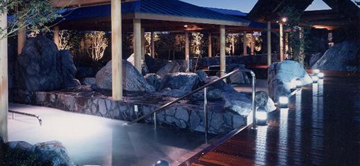 四国佐野温泉 大型温泉施設 セランガンバツーで